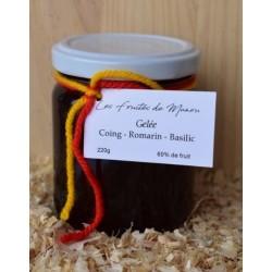 Gelée Coing / Romarin / Basilic