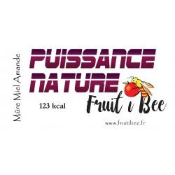 Puissance nature Mure Miel Amande
