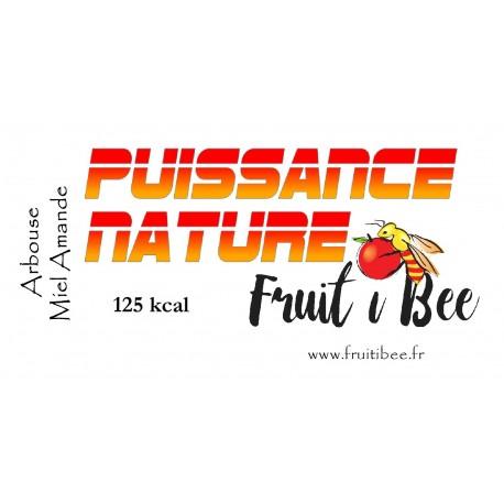 Puissance nature Arbouse Miel Amande