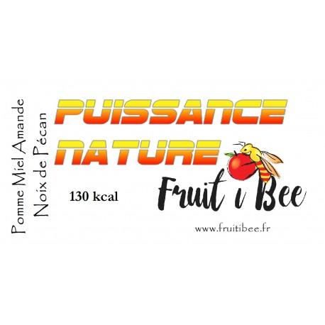 Puissance nature Pomme Miel Amande Eclats de pécan
