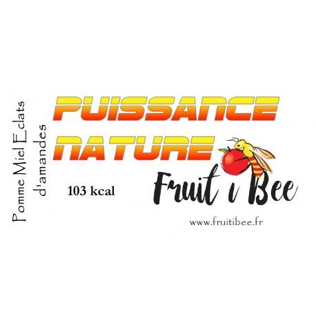 Puissance nature Pomme Miel Eclats d'amande