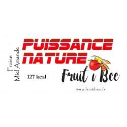 Puissance nature Fraise Miel Amande