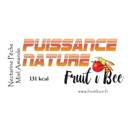 Puissance nature Pêche/Nectarine Miel Amande