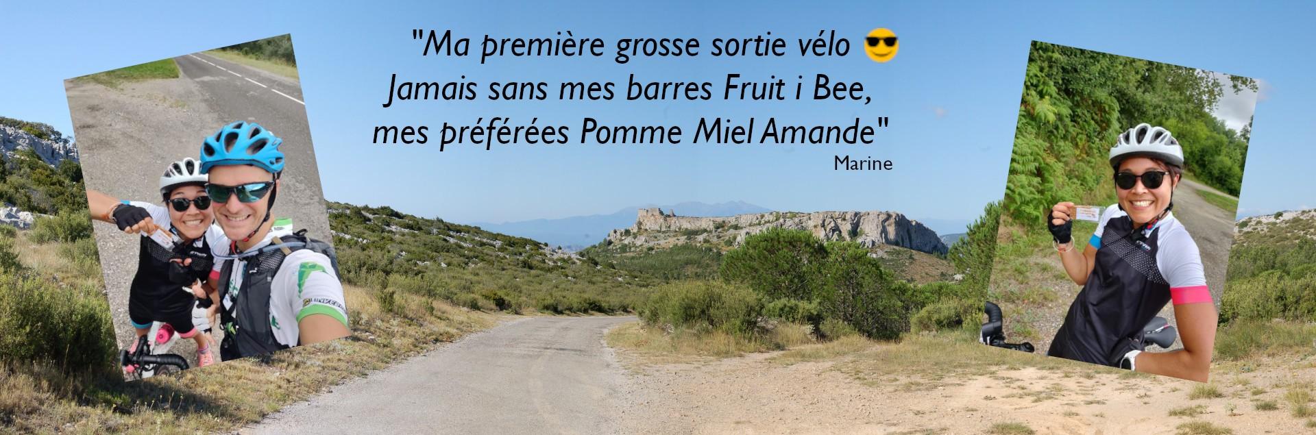 Fruit i Bee en sortie vélo
